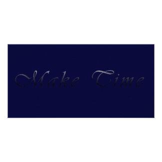 Make Time Photo Card