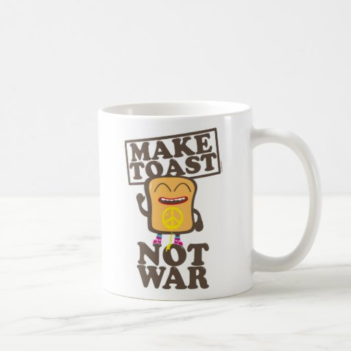 Make toast emergency was coffee mug