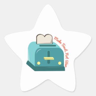 Make Toast Star Sticker
