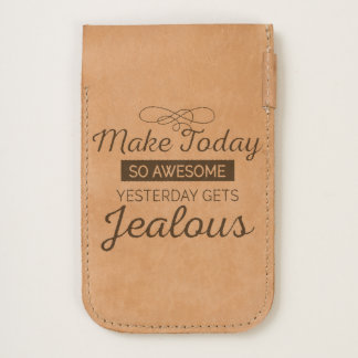 Make today awesome motivational quote iPhone 6/6S case