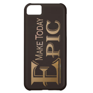 Make Today Epic iPhone 5C Case