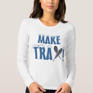 MAKE TRAX! FUN SNOWSHOEING SHIRT DESIGNS!