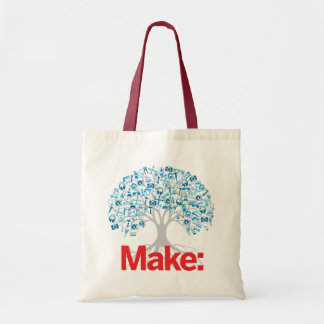 Make Tree Tote Bag