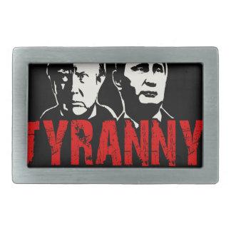 Make tyranny great again belt buckle