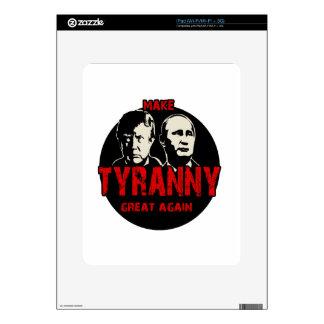Make tyranny great again skin for iPad