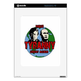 Make tyranny great again skins for iPad
