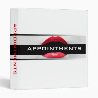Make-Up Artist Appointment Binder