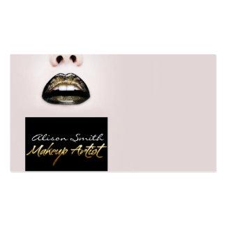 Make up Artist Business Card Template