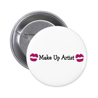 Make Up Artist Button