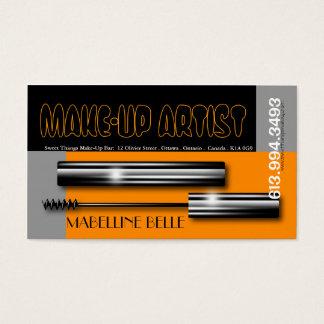 Make-Up Artist Eye-Liner Business Card