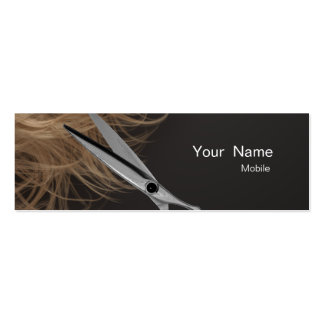 Make Up Artist - Hair Tylist Double-Sided Mini Business Cards (Pack Of 20)
