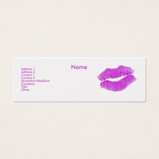 """Make-up Artist"" I Profile Card - Customizable"