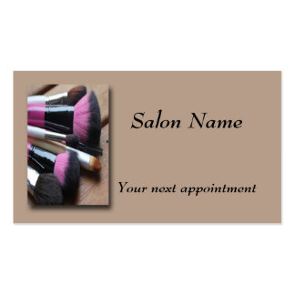 Make-up Artist, Make-up Brushes Appointment Card