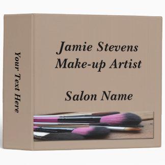"""Make-up Artist, Make-up Brushes Binder 2"""""""