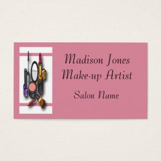 Make-up Artist Make-up Business Card Template
