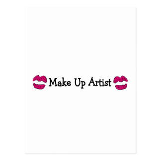 Make Up Artist Postcard