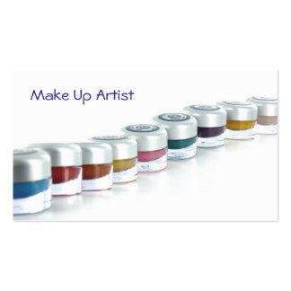 Make Up Artist Tarjetas De Visita