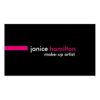 Make-Up Artist Template Business Card