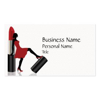 Make-Up Beauty Salon Cool  Business Card