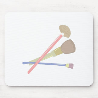 Make-up Brushes Mouse Pad