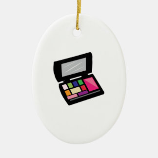 Make Up Ceramic Ornament