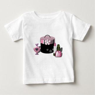 Make Up Cosmetics Girl Baby T-Shirt