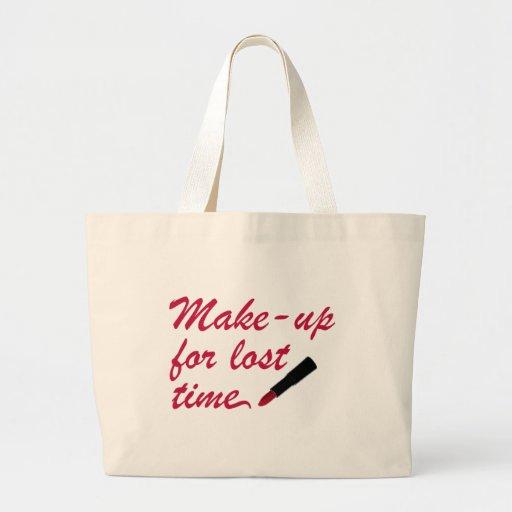 Make up for perdió tiempo bolsas de mano