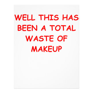 make up letterhead template