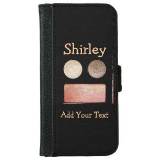 Make-Up Palette-Face iPhone 6 Wallet Case