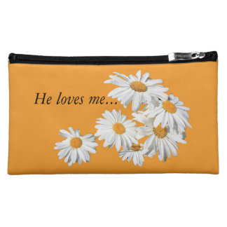 make-up sporran with: he loves me, he loves me not makeup bag