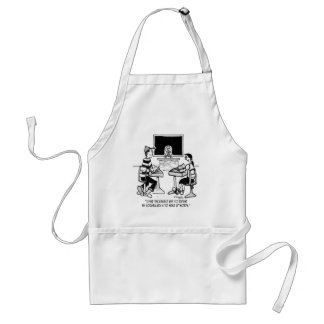 Make Up Words to Expand Vocabulary Adult Apron