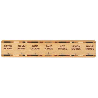 Make Up Your Own Funny Names for Your Keys Key Holder