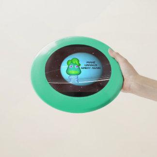 Make Uranus Great Again Green Alien Trump Wham-O Frisbee