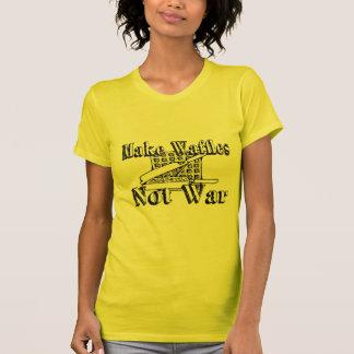 MAKE WAFFLES Not War Tee Shirt