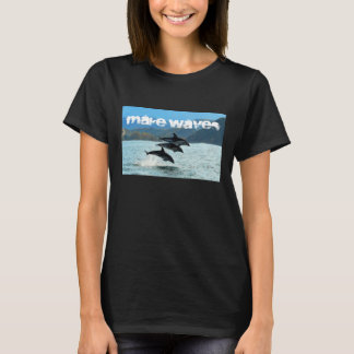 Make Wave's Dolphins Women's T-shirt