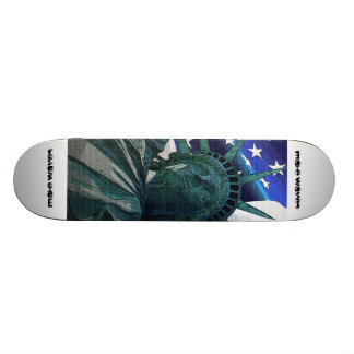 Make Waves Lady Liberty Skateboard