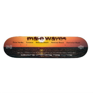 Make Waves Ltd. and Numbered South Bay Sidewalk Su Skateboard Deck