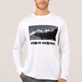 Make Waves Men's Pipeline Performance Micro-Fiber  Shirts