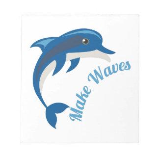 Make Waves Note Pads