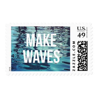 Make Waves Ocean Postage Stamps