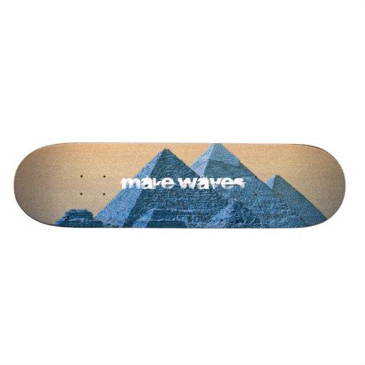 Make Waves Valley of the Kings Skateboard