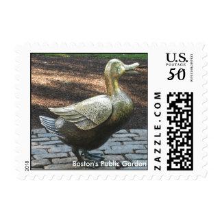 Make Way for Ducklings...Boston's Public Garden Postage