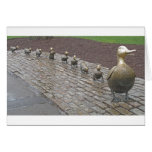 Make Way For Ducklings Greeting Cards