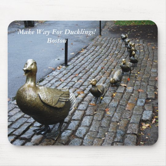 Make Way For Ducklings! Mouse Pad