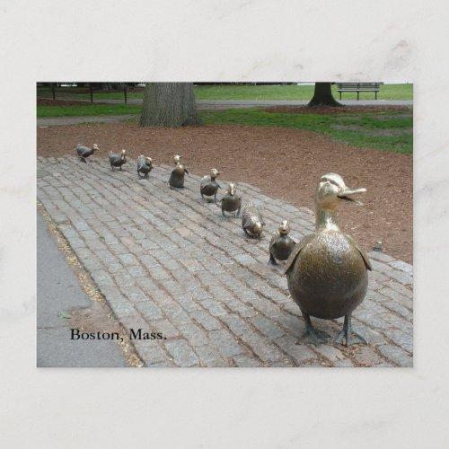 Make Way for Ducklings Postcard