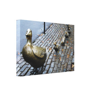 Make Way For Ducklings! Stretched Canvas Prints