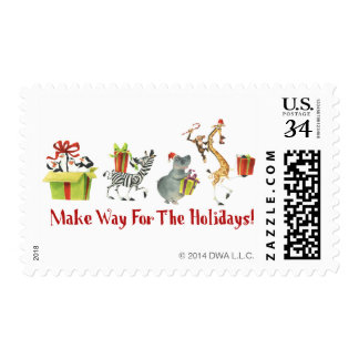 Make Way for the Holidays Postage