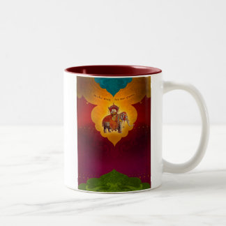 Make Way for the Queen! Two-Tone Coffee Mug