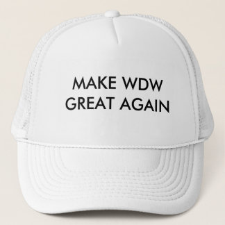 MAKE WDW GREAT AGAIN CLASS HAT