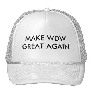 MAKE WDW GREAT AGAIN TRUCKER HAT